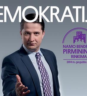 """Mindaugas Nastaravičius """"Demokratija"""", rež. Paulius Ignatavičius"""