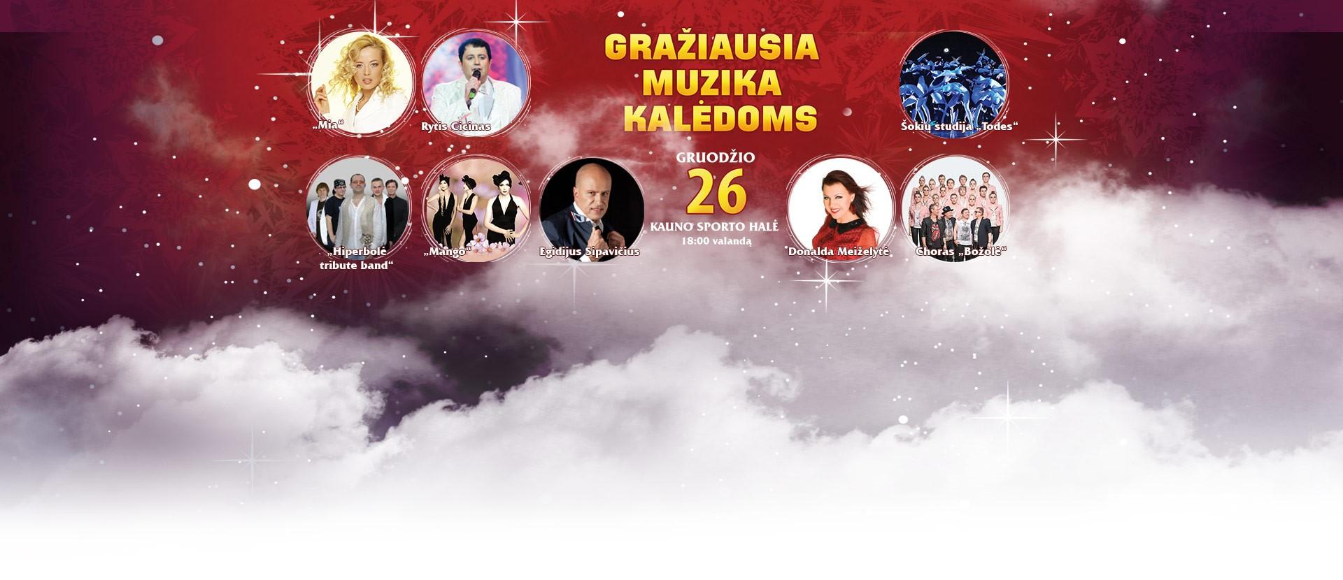 Geriausių lietuviškų dainų kalėdinis koncertas