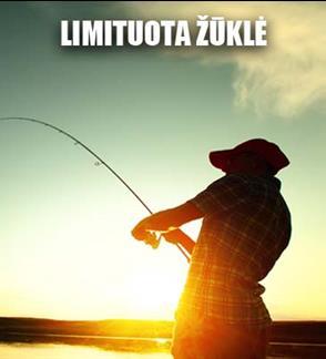 Žvejo mėgėjo kortelė limituotai karpių žvejybai