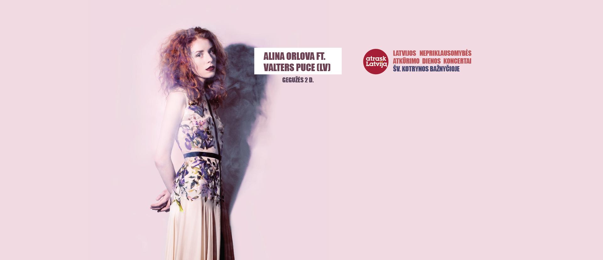 Alina Orlova ft. Valters Puce (Latvija)