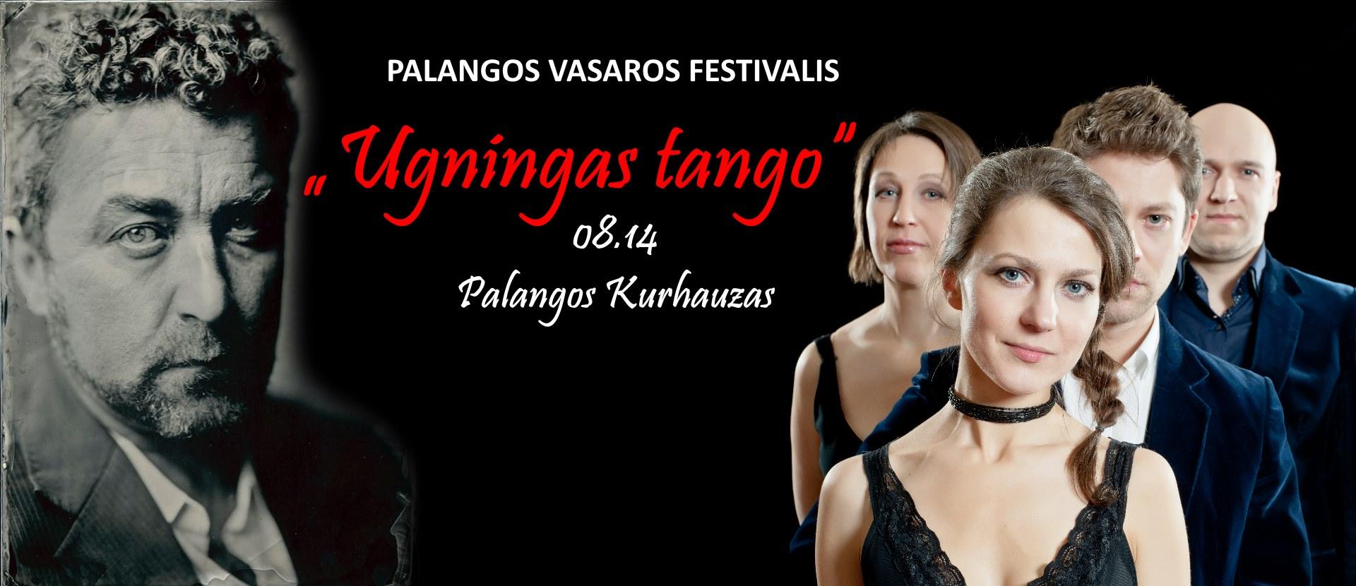 """""""Palangos vasaros festivalis"""": """"Ugningas tango"""""""