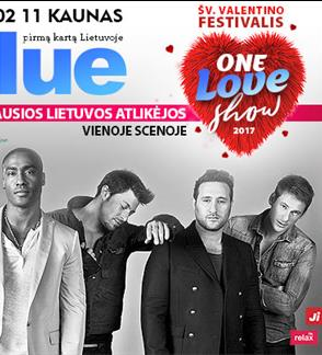 Blue: One love show