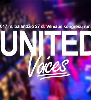 "Paramos koncertas ""United Voices"""