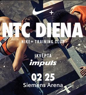 NIKE TRAINING DAY, POWERED BY IMPULS