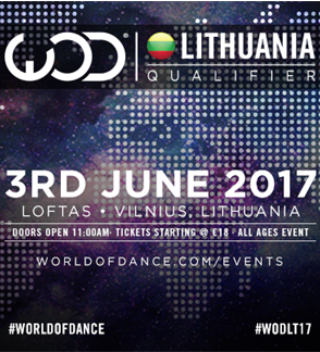 World of Dance Lietuva 2017