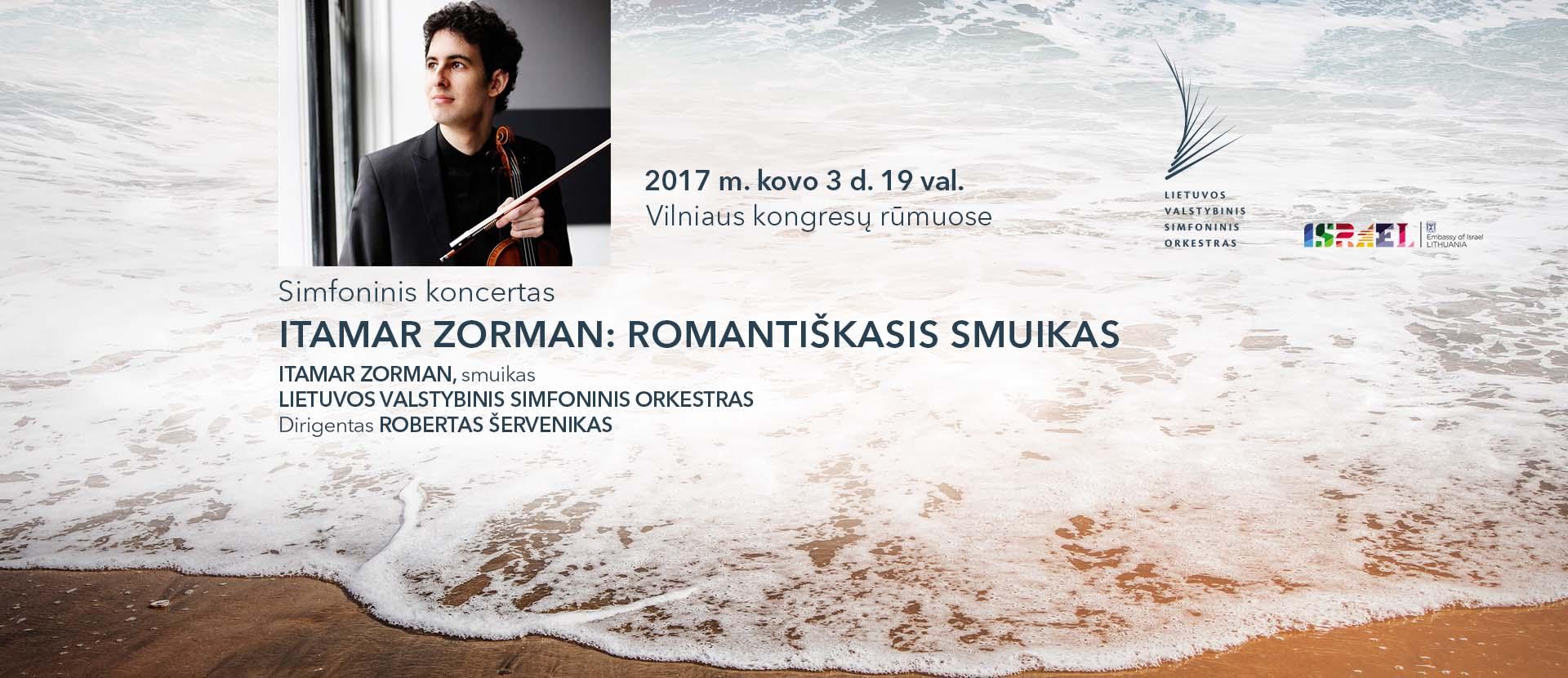 Itamar Zorman: Romantiškasis smuikas