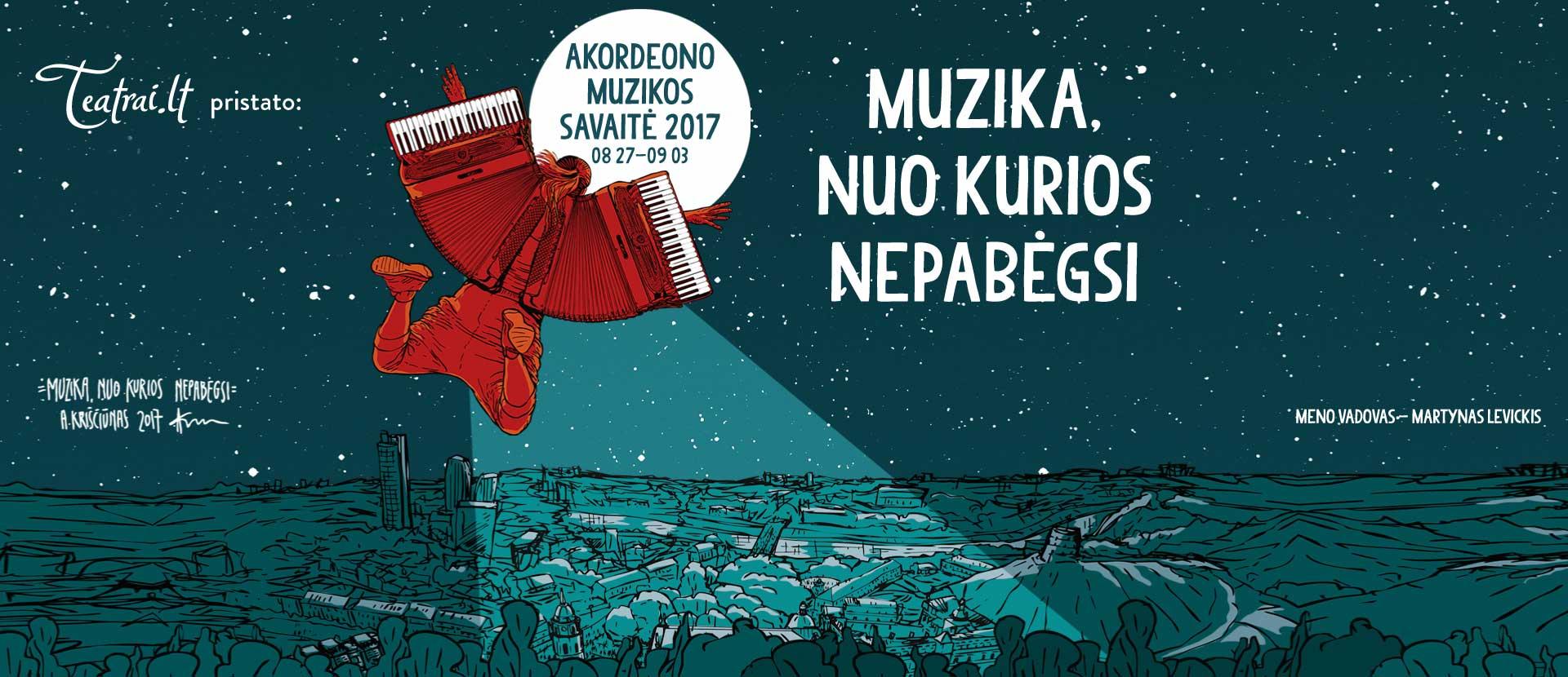 Akordeono muzikos savaitė 2017 koncertai