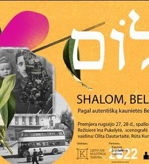 Shalom, Bellissima!