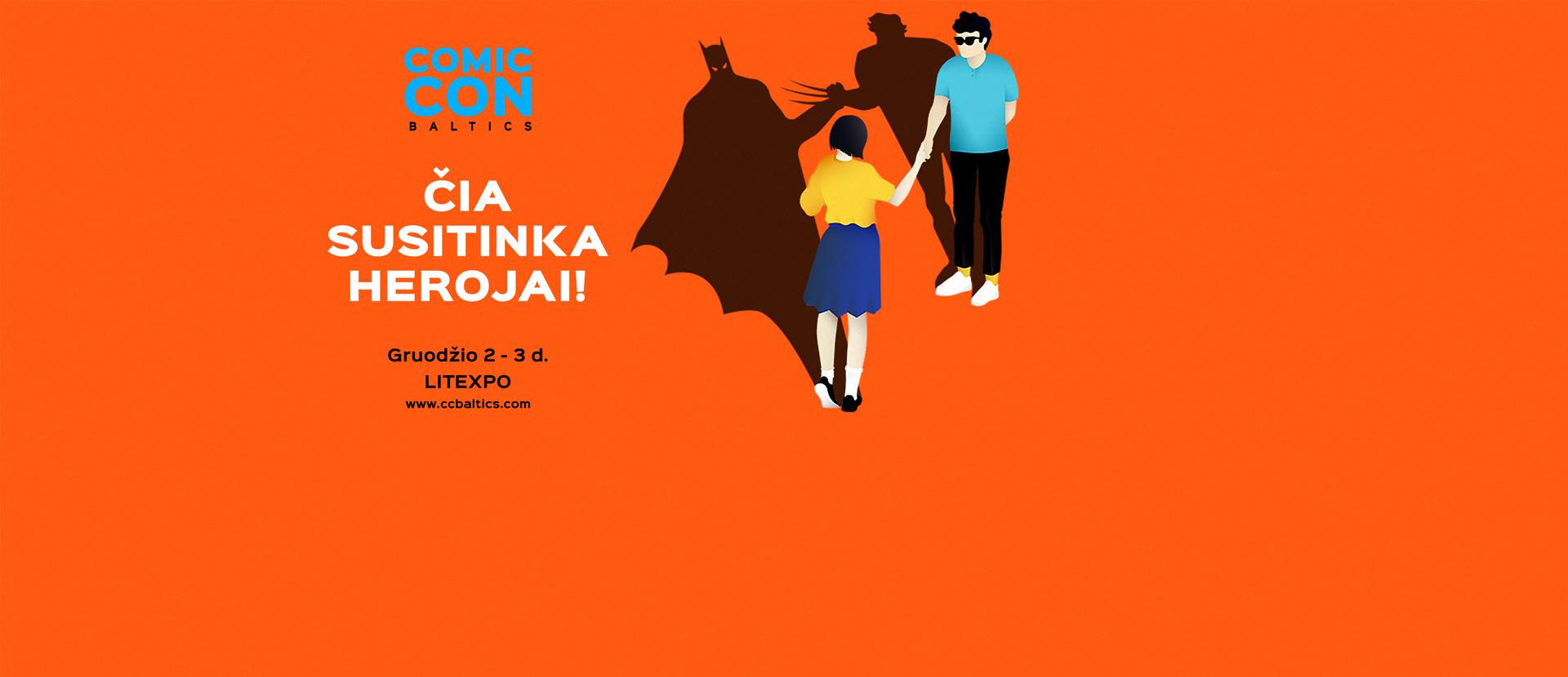 Comic Con Baltics – pop culture event