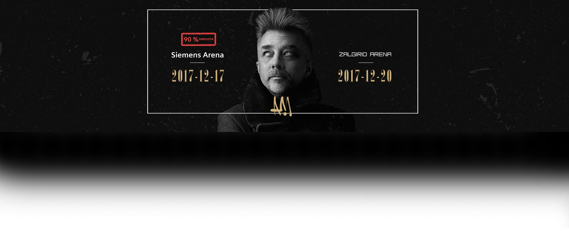 Andriaus Mamontovo koncertas AM50