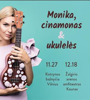 Monika, cinnamon and ukuleles