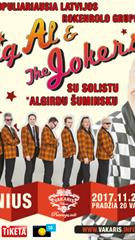 "Rokenrolo neprilygstamieji ""Big Al (Algirdas Šuminskas) and The Jokers"""