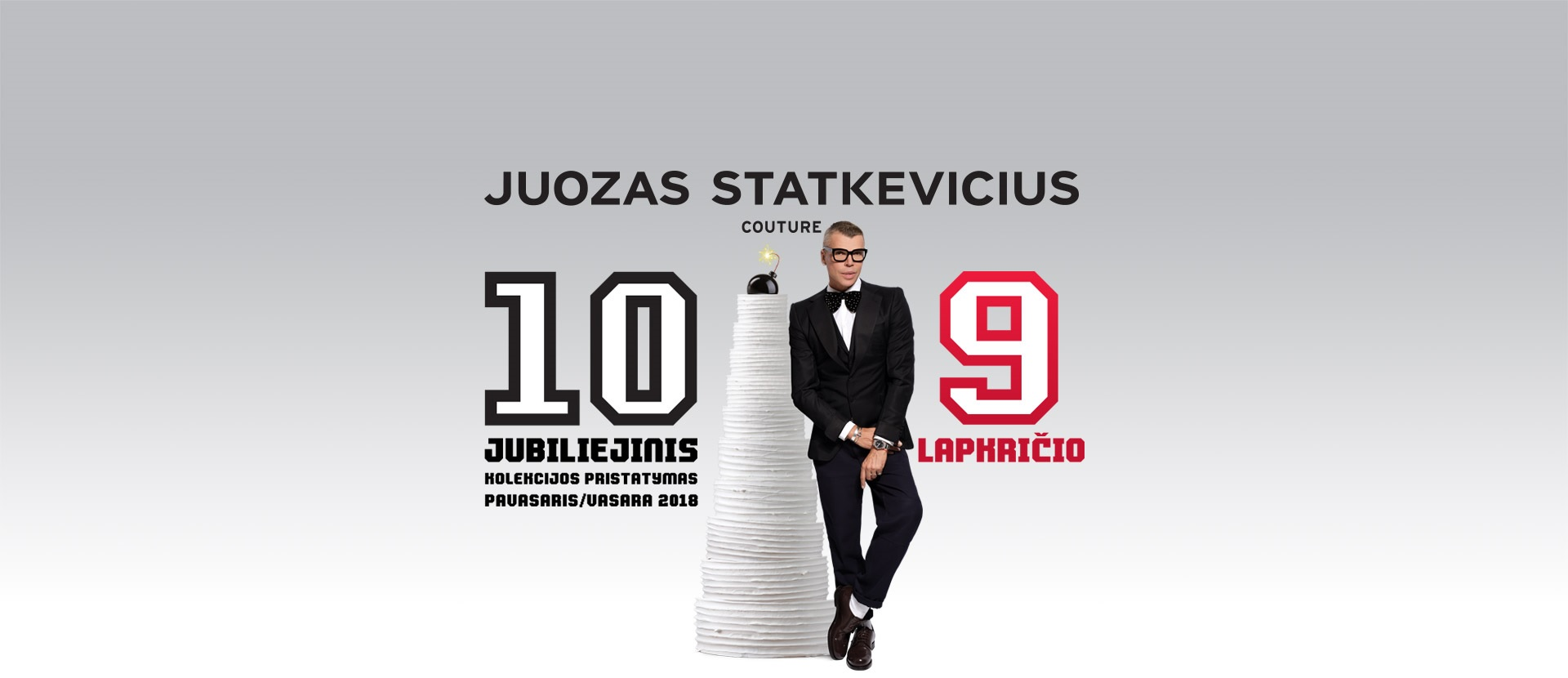 JUBILIEJINIS JUOZO STATKEVIČIAUS 10-ASIS KOLEKCIJOS PRISTATYMAS