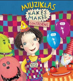 """CD Miuziklas """"Kakės Makės gimtadienis"""""""