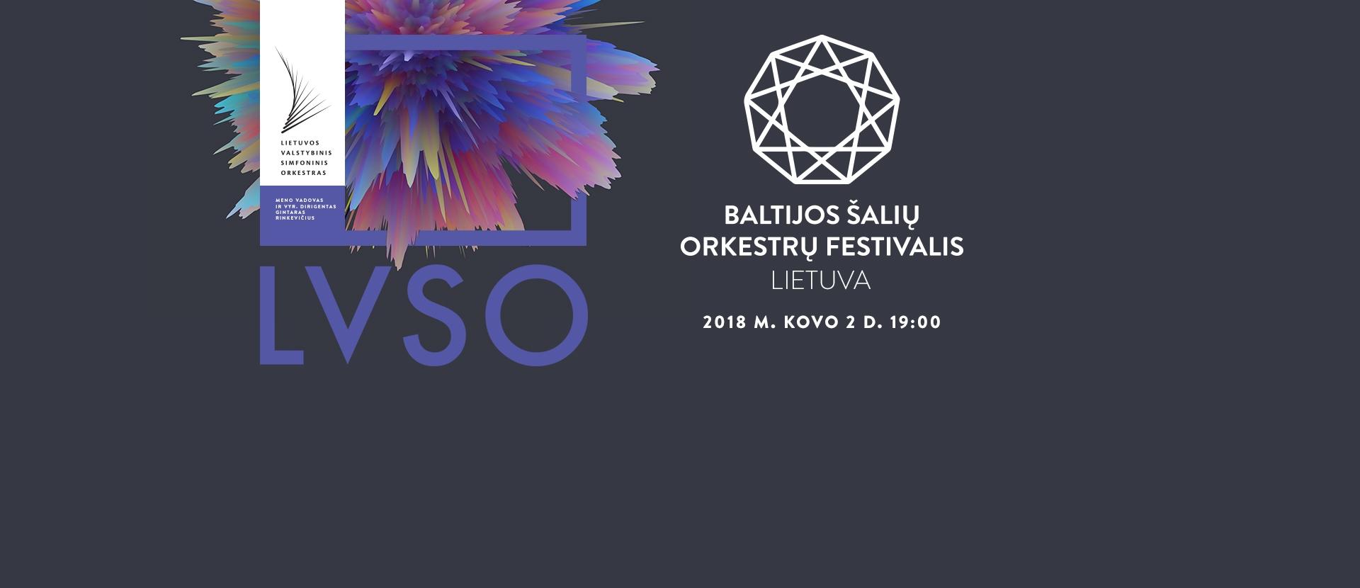 BALTIJOS ŠALIŲ ORKESTRŲ FESTIVALIS. LIETUVA