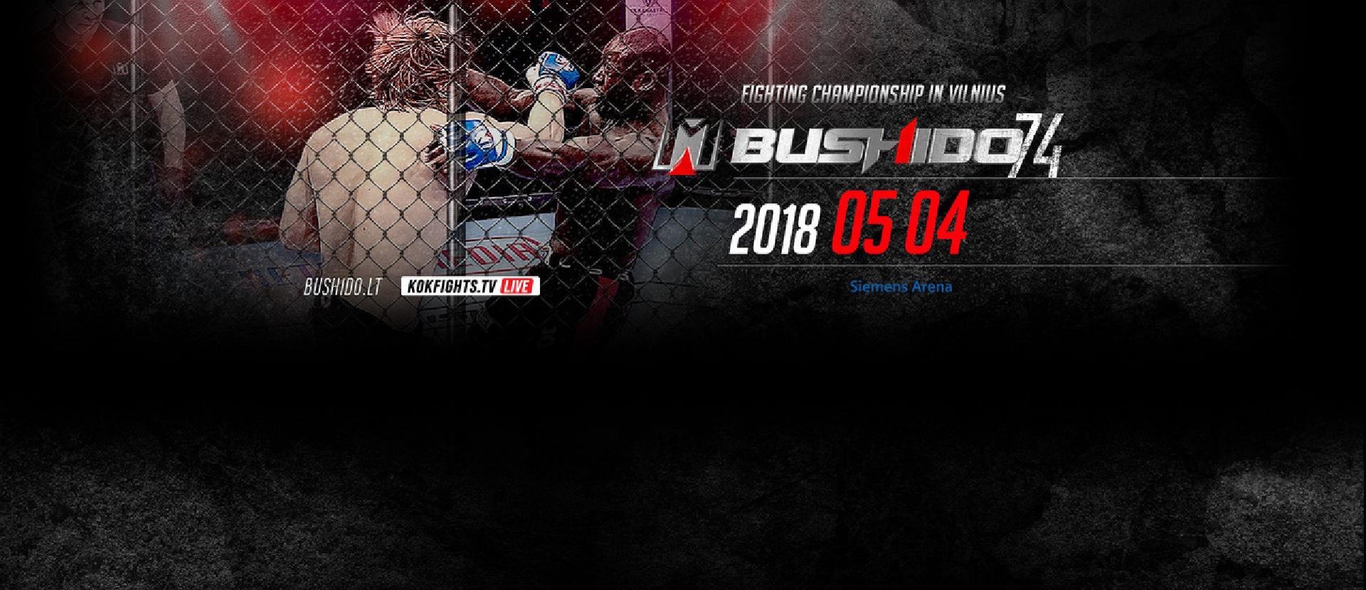 MMA Bushido Fighting Championship in Vilnius