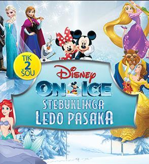 DISNEY ON ICE. STEBUKLINGA PASAKA