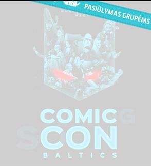 Pasiūlymas grupėms: Comic Con Baltics