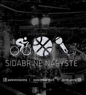 """2018/2019 M. """"CIDO"""" ARENOS """"SIDABRINĖ"""" NARYSTĖ"""