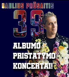 Saulius Prūsaitis'39 Naujas Albumas