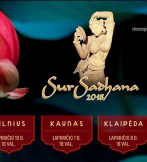 Klasikinių Indijos menų festivalis SurSadhana 2018