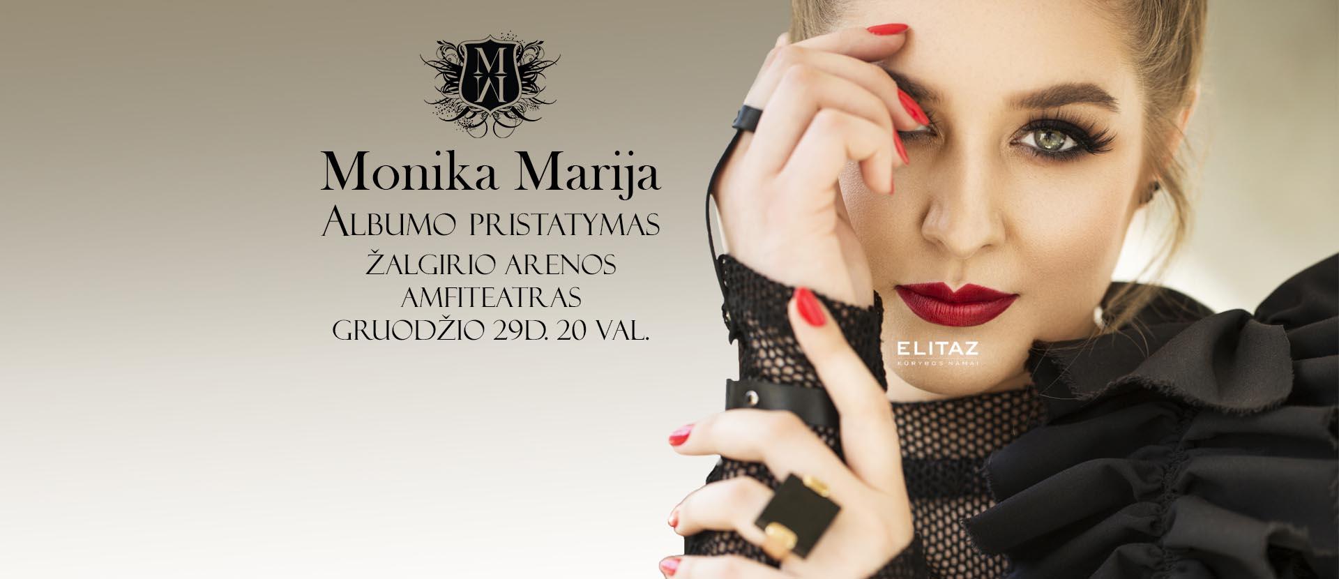 Monika Marija, Albumo pristatymas