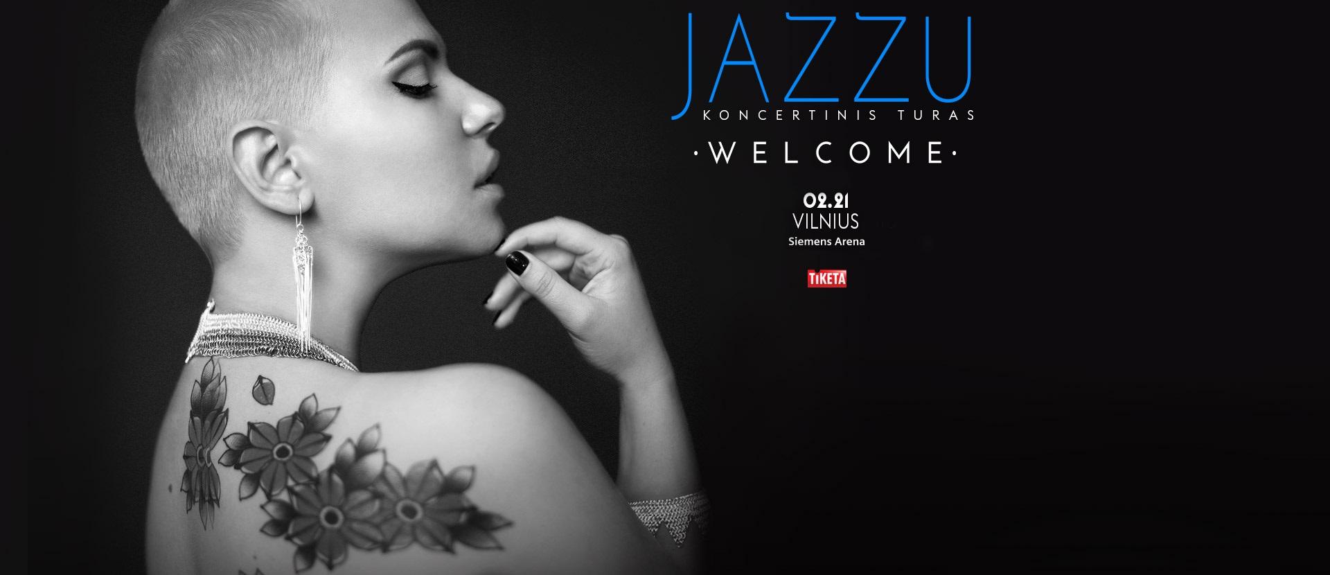 JAZZU. WELCOME koncertinis turas