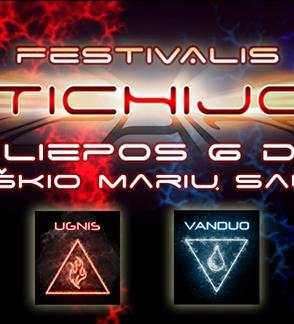 """Creative and art festival """"Stichijos"""""""