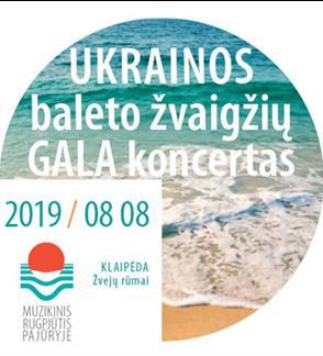 Ukrainos baleto žvaigždžių GALA koncertas