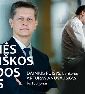 """Festivalis """"Pavasaris White Piano Hall"""". AUKSINĖS LIETUVIŠKOS ESTRADOS DAINOS / Puišys / Anusauskas"""