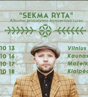 Saulius Petreikis naujo albumo pristatymo koncertas