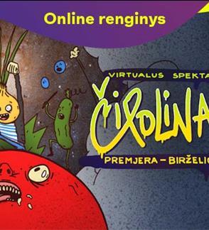 """Online: Vilniaus teatras LĖLĖ """"Čipolinas"""" online spektaklis"""