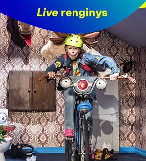 "LIVE: Spektaklis ""Kaime nėra Wi-fi"""