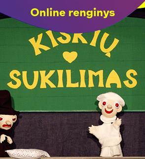 """ONLINE: Spektaklis """"Kiškių sukilimas"""""""