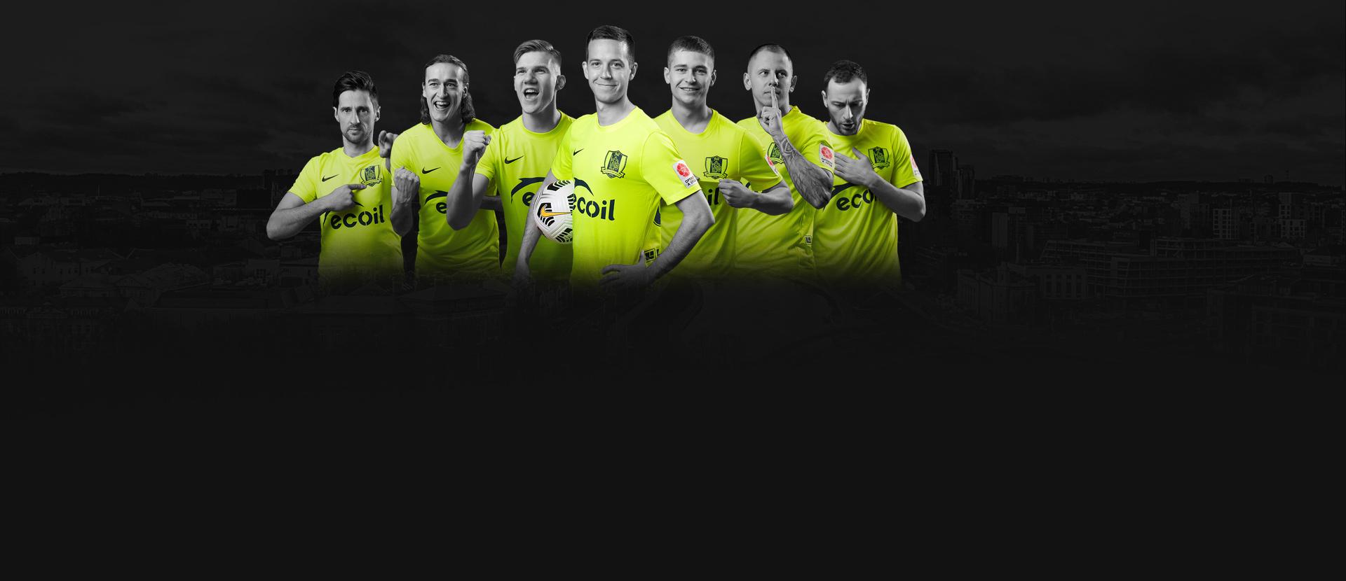 """Vilniaus """"Riteriai"""" futbolo klubo rungtynės """"Optibet A lygoje"""":"""