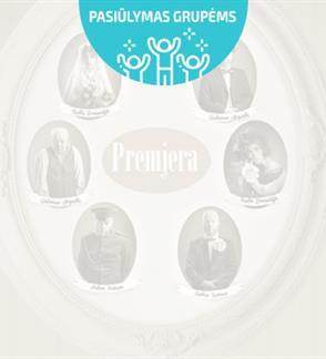 Pasiūlymai grupėms: Principas. 2 dalių komedija (rež. Kristina Kazlauskaitė). PREMJERA!