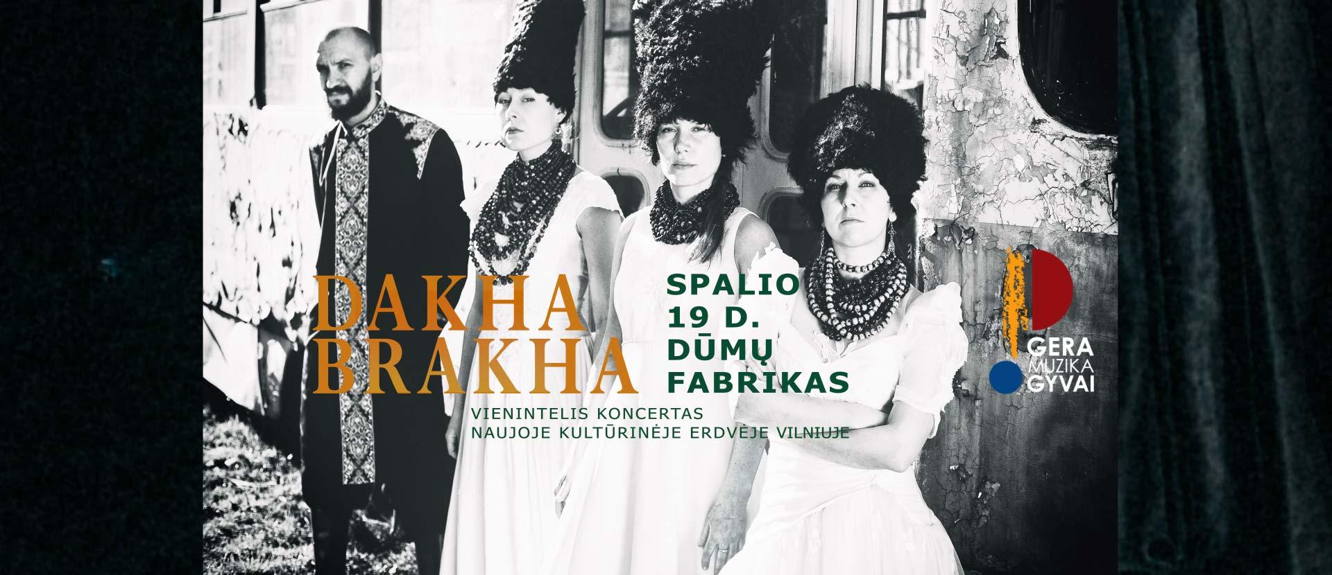 """DAKHABRAKHA"" CONCERT (Ukraine)"